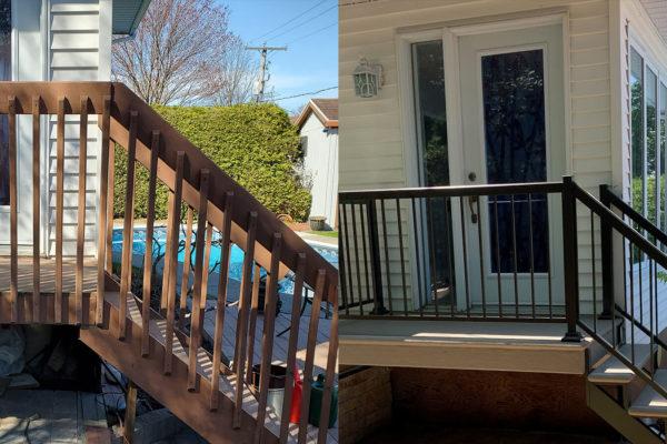 Balcon, marches, rampes et barreaux