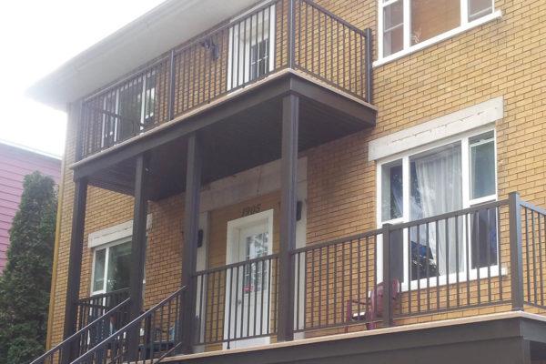 Balcons, rampes, barreaux et colonnes
